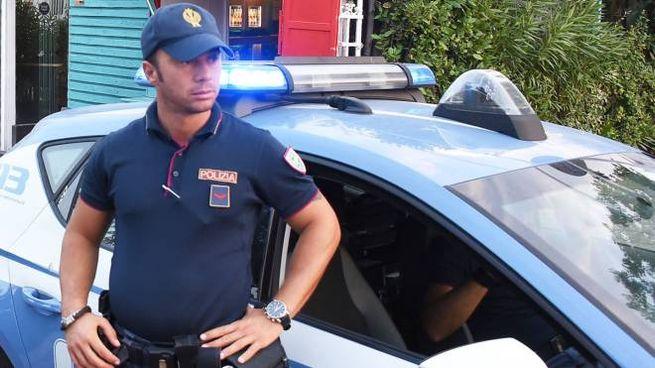 Intervento della polizia