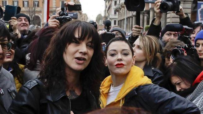 Asia Argento e Rose McGowan (Ansa)