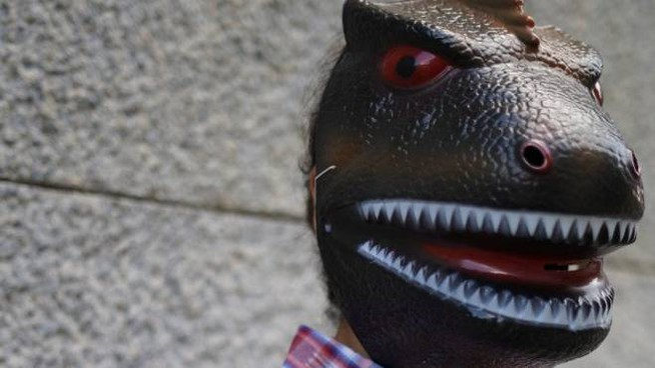 Yunes in versione T-Rex