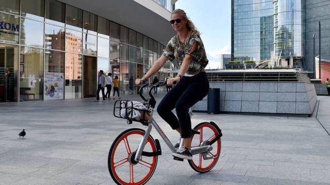 Bike sharing a Milano