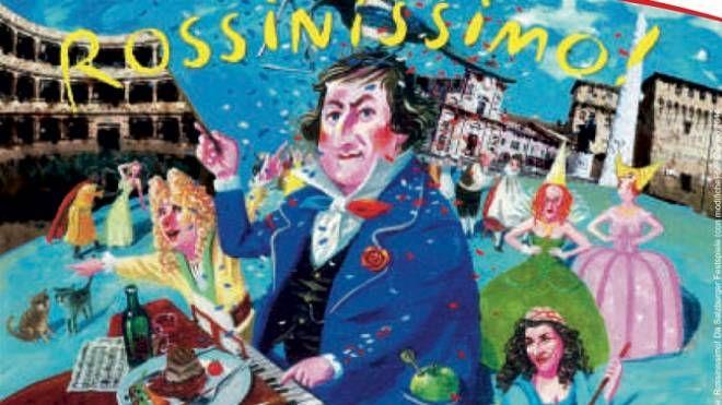 La mostra 'Rossinissimo'