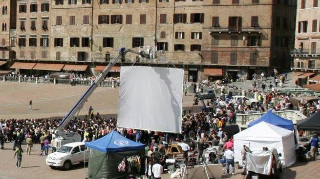 Siena torna a essere set per una grande produzione