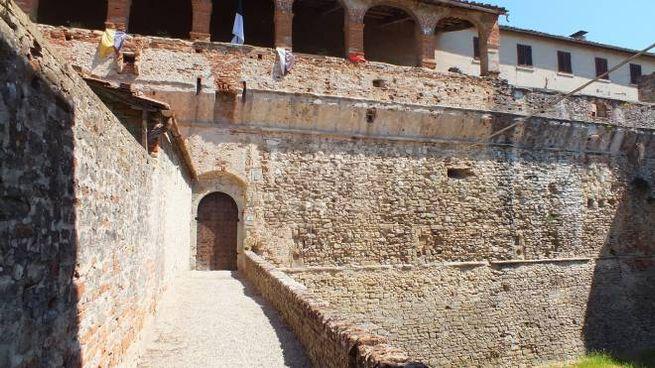 L'ingresso della fortezza medicea di Sansepolcro