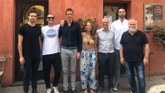 Torelli, Bracaloni, Biagianti, Betti, Biancucci, Mezzanotte e Rossi