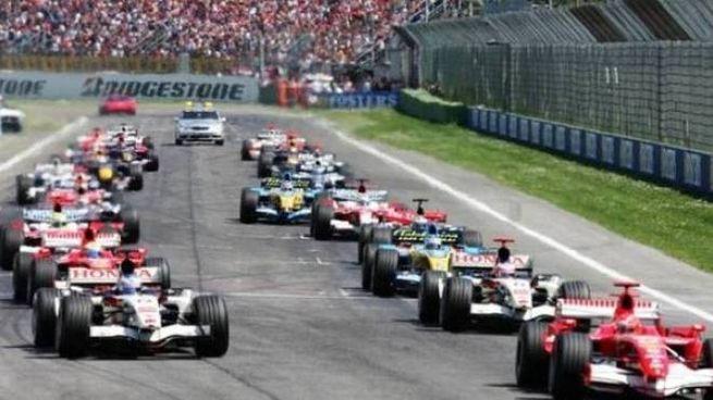 Un'immagine del Gran Premio di Formula 1 a Imola