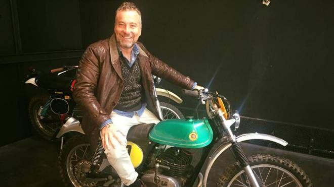 Federico Pesci in un'immagine tratta dal suo profilo Facebook (Ansa)