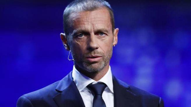 Il presidente Uefa, Aleksander Ceferin (Ansa)
