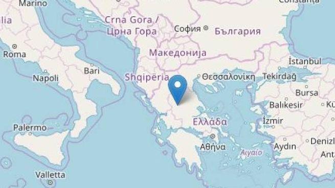 Terremoto in Grecia (Ingv)