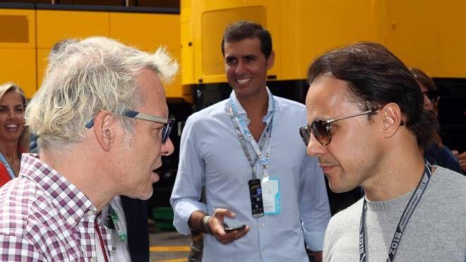 Jacques Villeneuve e Felipe Massa (Lapresse)
