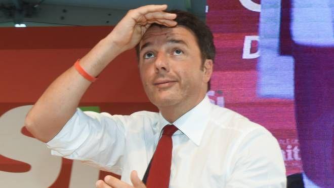 L'ex leader del Pd Matteo Renzi (Newpress)