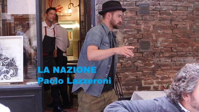 Justin Timberlake a Siena (Foto Lazzeroni)