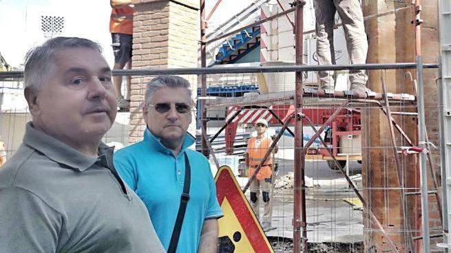 Due 'osservatori di cantiere' davanti al Paolo Mazza pieni di fiducia