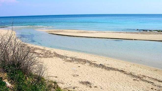 La spiaggia da cui è stata invitata ad andarsene la turista