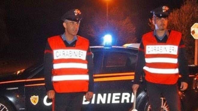I controlli notturni sul territorio dei carabinieri