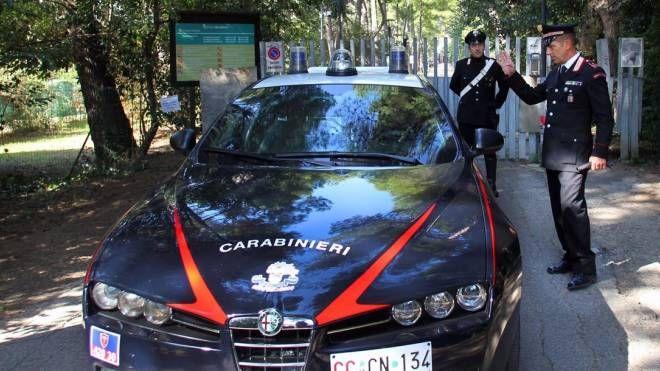I carabinieri al parco Miralfiore (Fotoprint)