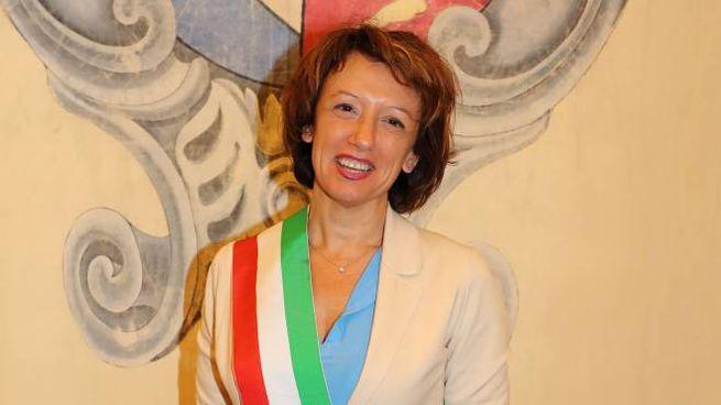 La sindaca di Imola, Manuela Sangiorgi