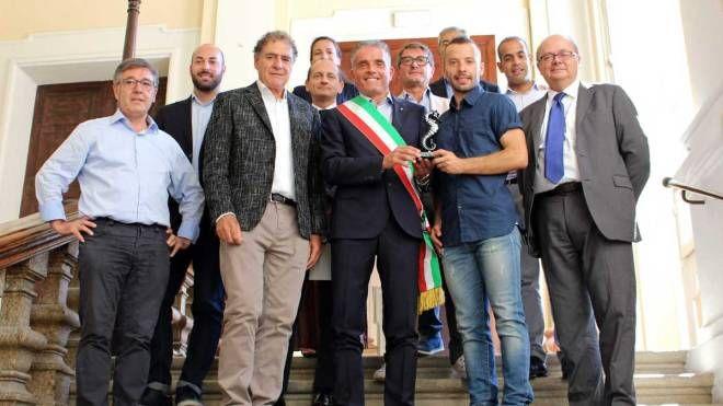 La riconsegna del simbolo storico del Cesena