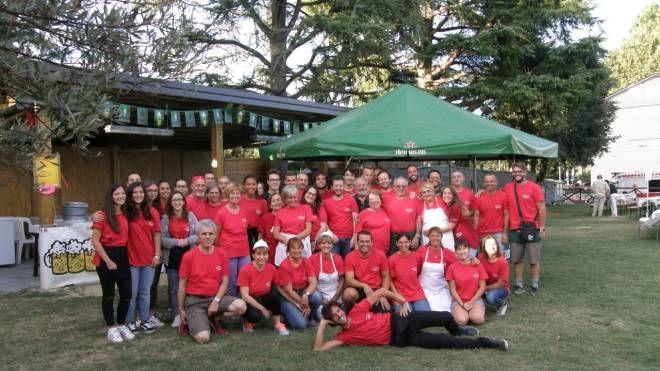 I volontari della società cooperativa In Campis Vita