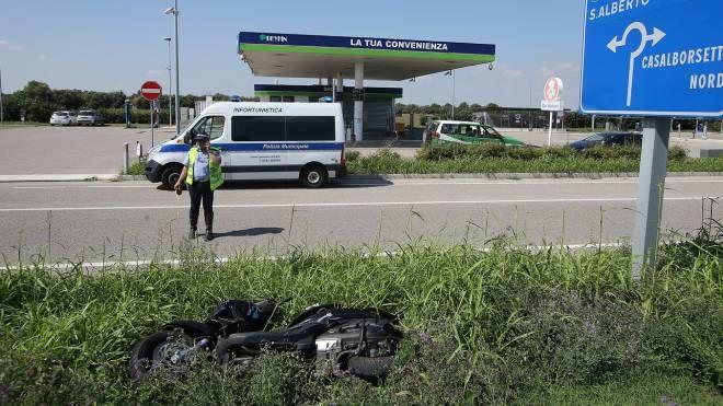 Incidente a Casal Borsetti, morto un 79enne (foto Zani)