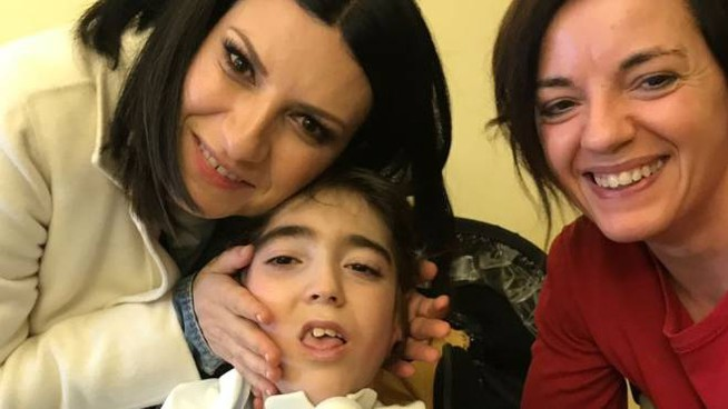 Laura Pausini era andata a trovarlo all'ospedale di Lodi