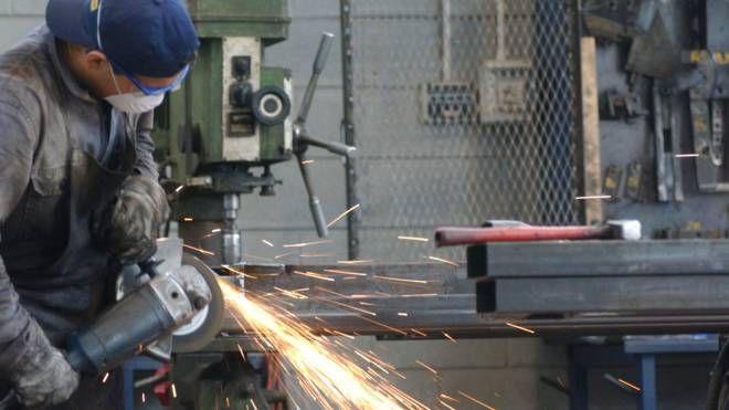 Un'impresa metalmeccanica