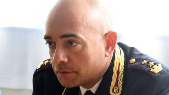 Il dirigente del commissariato, Gianluca Fargnoli
