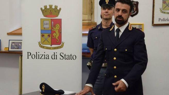 Il dirigente della squadra Mobile di Forlì,  Mario Paternoster, ha illustrato l'operazione (Frasca)