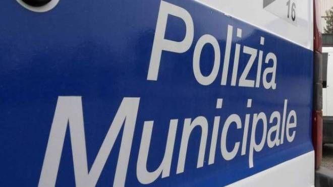 Sul posto una pattuglia della Polizia Municipale