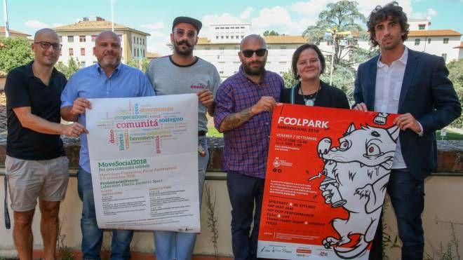 «Fool Park- Volume 1» è promosso da Comune, Cooperativa Indaco, Cesvot, Auser e Centro Giovani