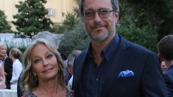 Bo Derek e il compagno John Corbett (Foto Marco Mori / New Press Photo)