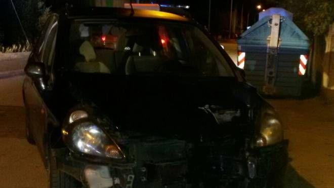 Incidente in Via del Peruzzo a Istia d'Ombrone