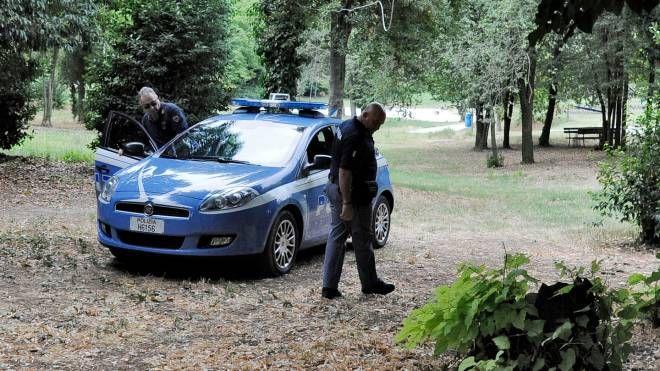 Polizia al Fontescodella
