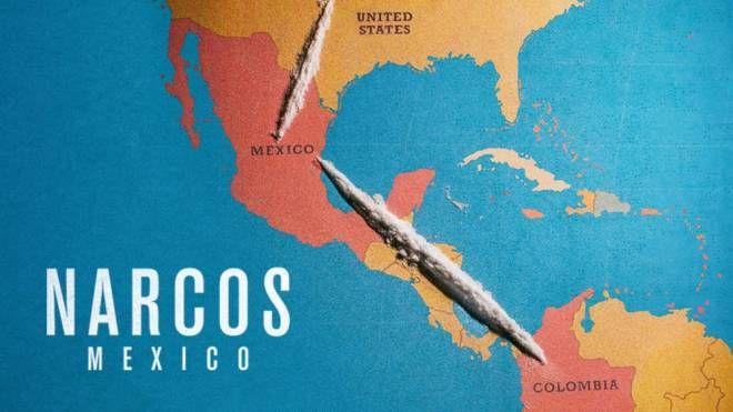 Dettaglio del poster di 'Narcos: Messico' – Foto: Netflix