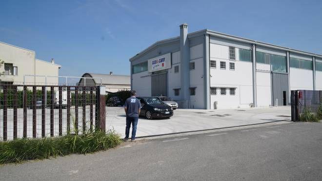 Il magazzino dove è sistemato il deposito dei Monopoli