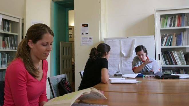 Universitari di Ravenna  nella sede di Palazzo Corradini   (Corelli)
