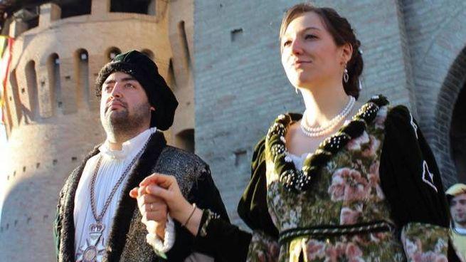 Brunoro II Zampeschi e Battistina Savelli