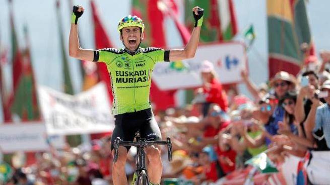 Oscar Rodriguez vinca la tappa 13 della Vuelta (LaPresse)