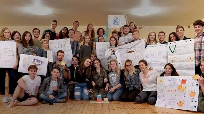 Gli studenti in Lettonia