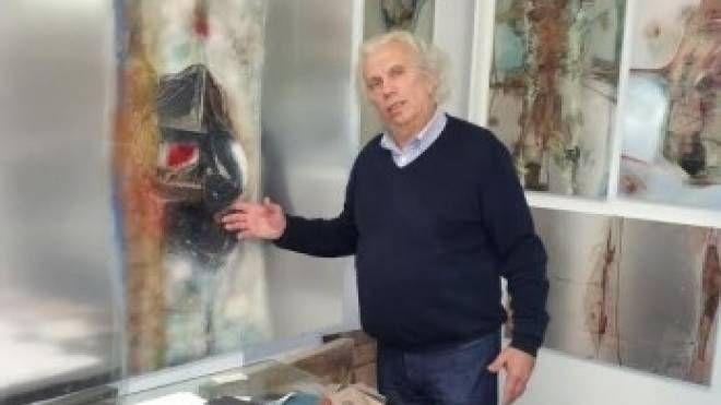 L'artista Giuseppe Orsenigo
