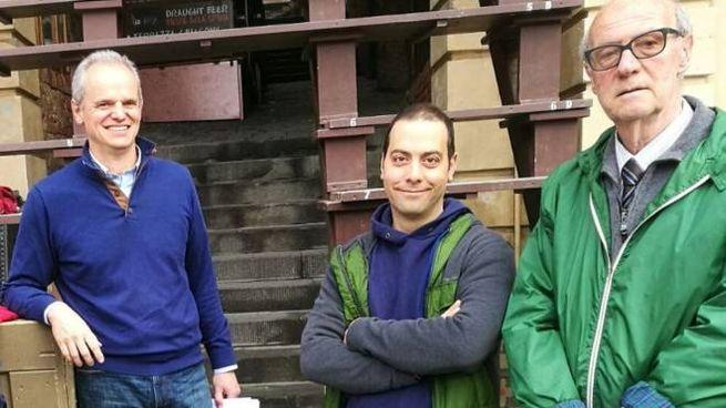 Borgogni (al centro) si è occupato anche delle modifiche di due palchi del Magistrato