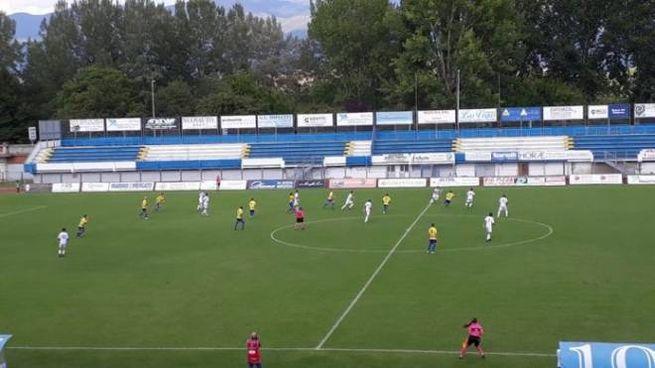 Una fase di Sangiovannese-Modena
