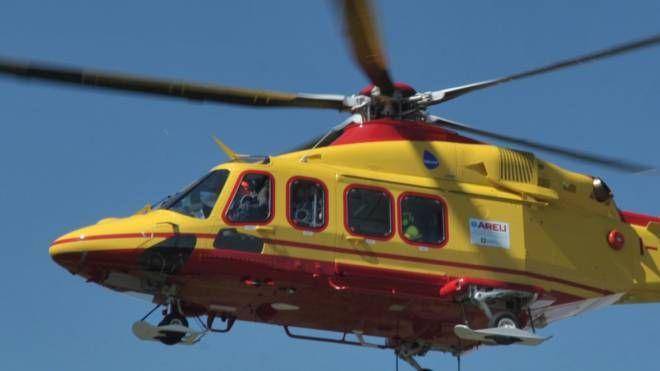In entrambi i casi è stato necessario richiedere l'elicottero del 118
