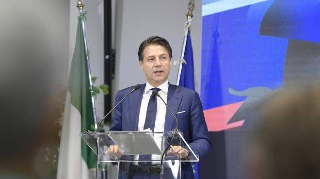 Il Presidente del Consiglio Giuseppe Conte (Lapresse)