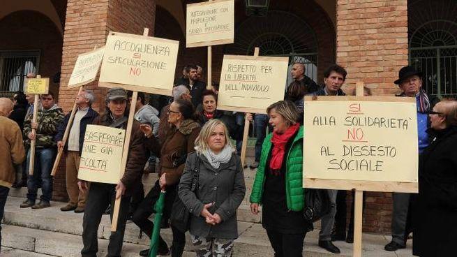 La protesta di Badia Prataglia