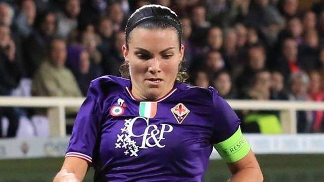 Alia Guagni è la capitana della Fiorentina Women's (foto Germogli)