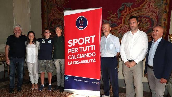 La presentazione del progetto a favore dei ragazzi disabili