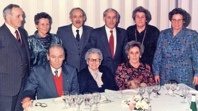 Edda Panini nel gruppo