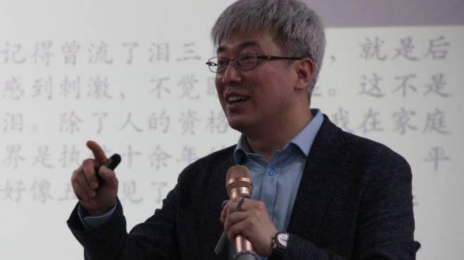 Il professor Wen Zheng