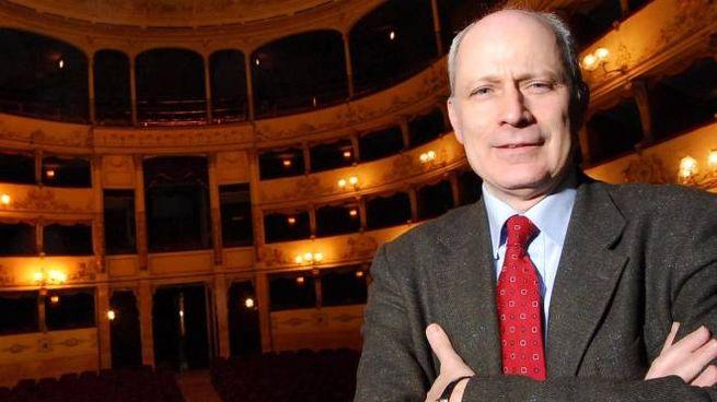 Il direttore Marco Giorgetti