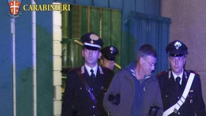 Massimo Carminati arrestato dai carabinieri (Ansa)